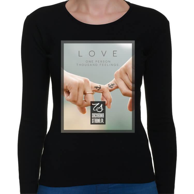 Koszulka longsleeve LOVE