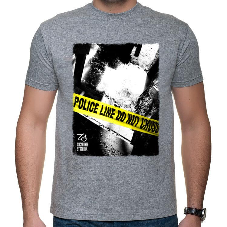 Koszulka męska Police line