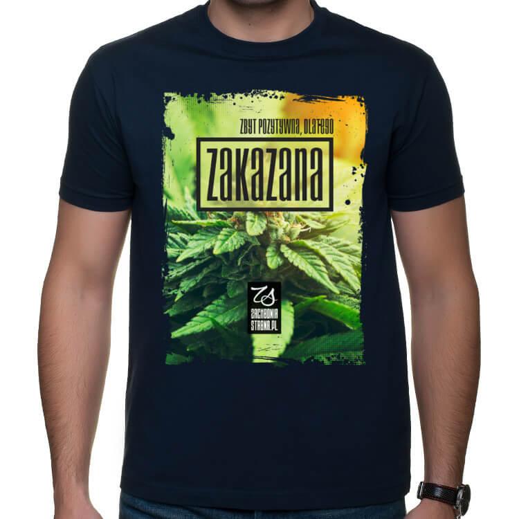 Koszulka Zbyt pozytywna dlatego zakazana