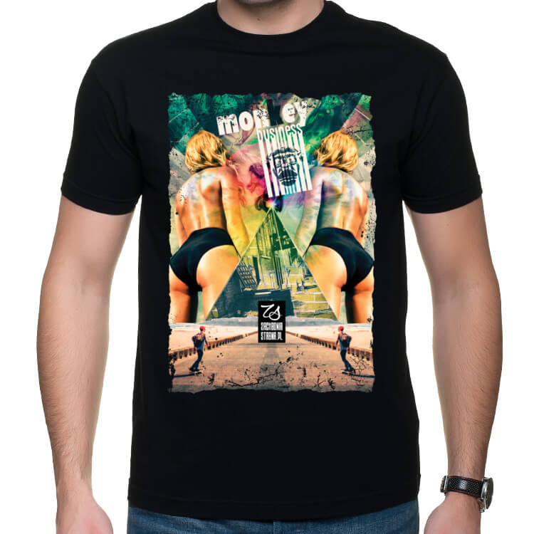Koszulka męska Monkey business