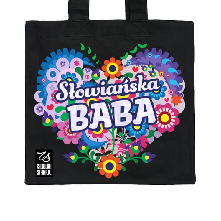 Torba na zakupy Słowiańska baba