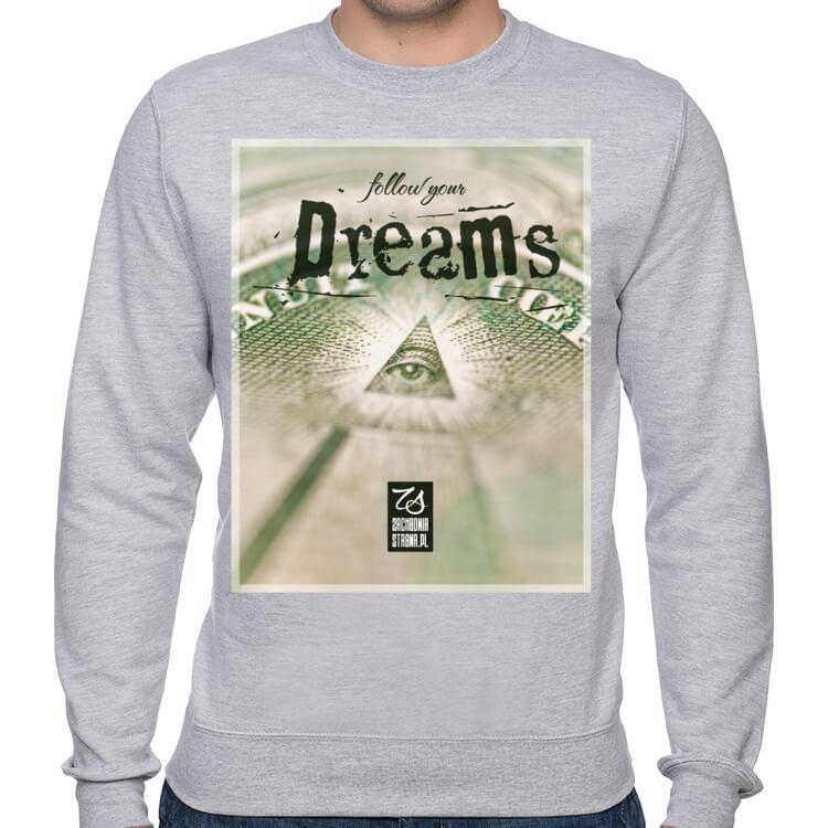 Bluza klasyczna Follow your dreams