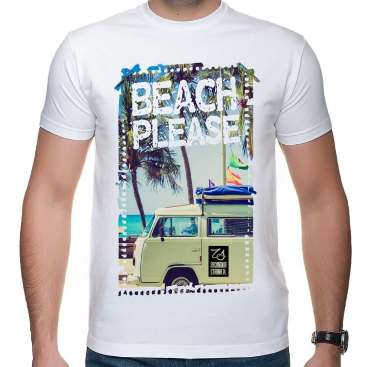 Koszulka męska Beach please