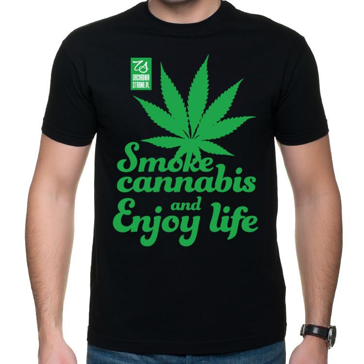 Koszulka Pal cannabis i ciesz się życiem