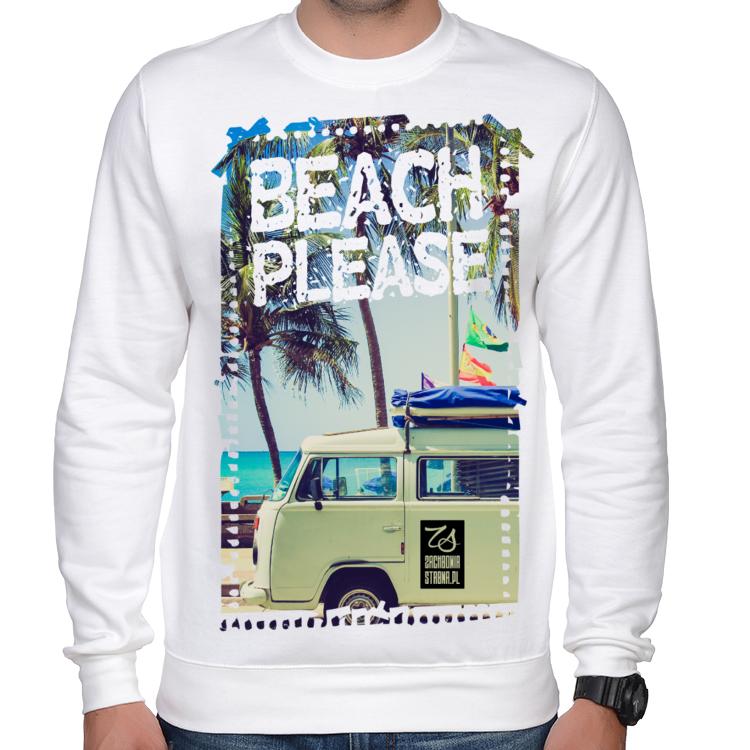 Bluza męska Beach please